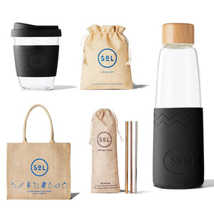 12oz Basalt Black Plastic Free Kit