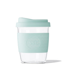 SoL Cups 12oz Cool Cyan Glass Tumbler from One Less