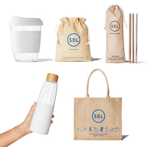 8oz White Wave Plastic Free Kit