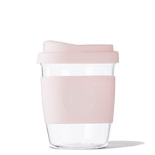 Eco Friendly SoL Cups 8oz Perfect Pink Hand Blown Glass Coffee Tumbler from One Less - Available in Canada & USA