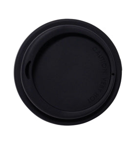 SoL 12oz Basalt Black Silicone Lid from One Less