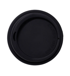SoL 8oz Basalt Black Silicone Lid from One Less