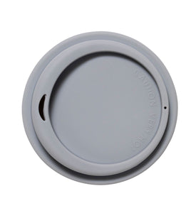 SoL 8oz Cool Grey Silicone Lid from One Less