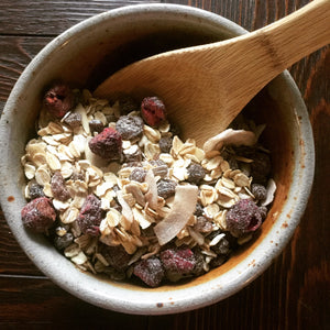 Freeze Dried Gluten Free Muesli Cereal - OutdoorPantry.com