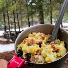 Freeze Dried Turkey Sausage and Ham Scramble