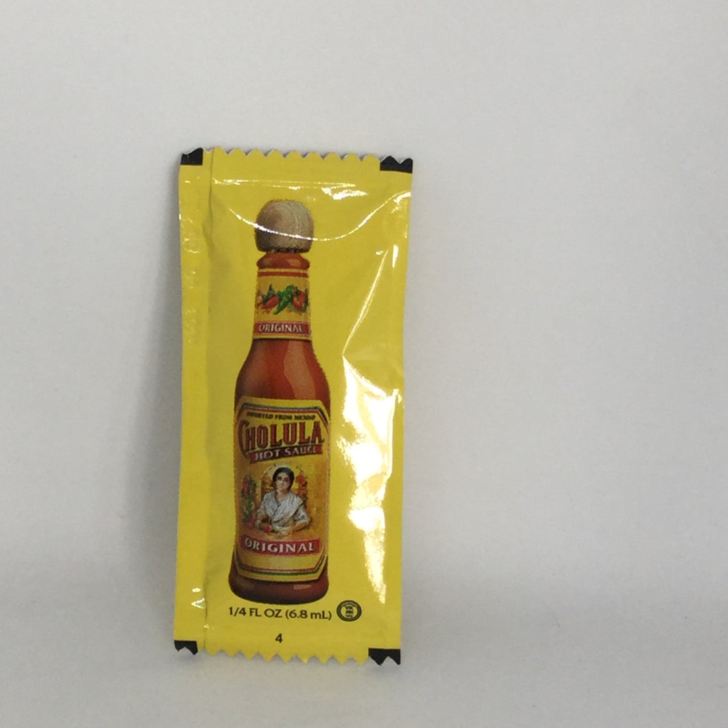 Cholula Hot Sauce Packet - OutdoorPantry.com