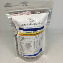 Freeze Dried Strawberry Yogurt Bark - OutdoorPantry.com