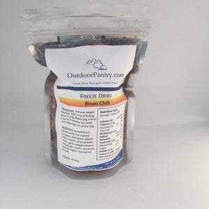 Freeze Dried Bison Chili - OutdoorPantry.com