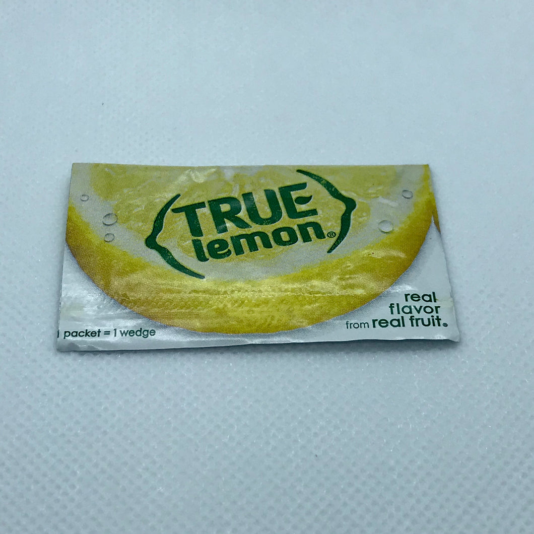 True Lemon Flavor Packet - OutdoorPantry.com