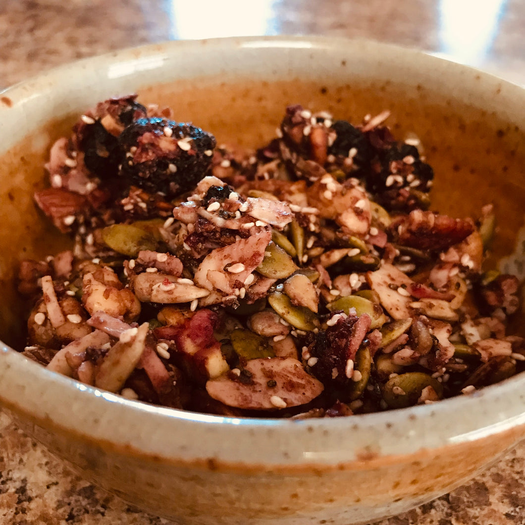 Freeze Dried Cherry and Almond Granola - OutdoorPantry.com