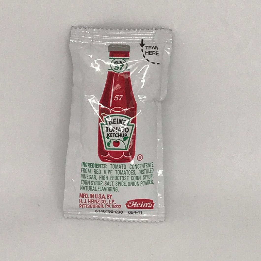 Heinz Ketchup Packet - OutdoorPantry.com