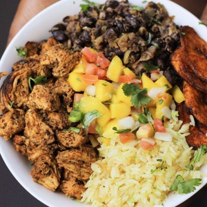 Freeze Dried Cuban Chicken and Black Bean Rice Bowl - OutdoorPantry.com