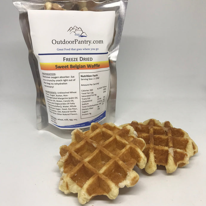 Sweet Belgian Waffles - OutdoorPantry.com