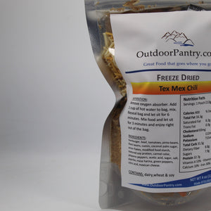 Freeze Dried Tex Mex Chili