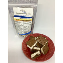 Freeze Dried Vanilla Ice Cream Sandwiches - OutdoorPantry.com