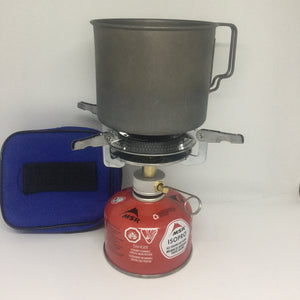 Lightweight Portable Outdoor Camp Stove - OutdoorPantry.com
