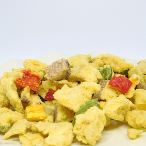 Freeze Dried pic of our Fiesta Ham & Egg Scramble