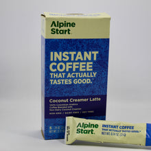 Alpine Start Coconut Creamer Latte Instant Coffee - OutdoorPantry.com