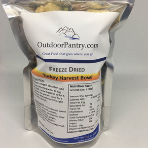 Freeze Dried Turkey Harvest Bowl - OutdoorPantry.com