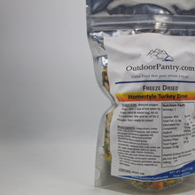 Freeze Dried Homestyle Turkey Dinner - OutdoorPantry.com