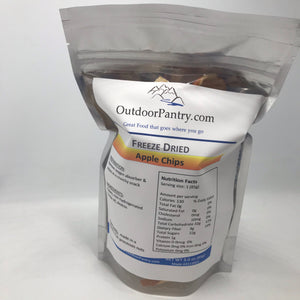 Freeze Dried Apple Chips - OutdoorPantry, Inc