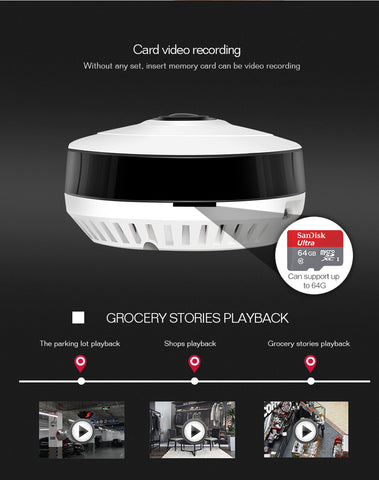 Image of 360 Degrees Smart Home Security Camera