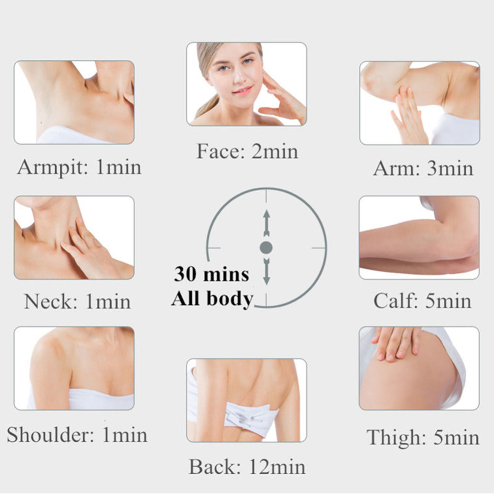 IPL Body Hair Removal