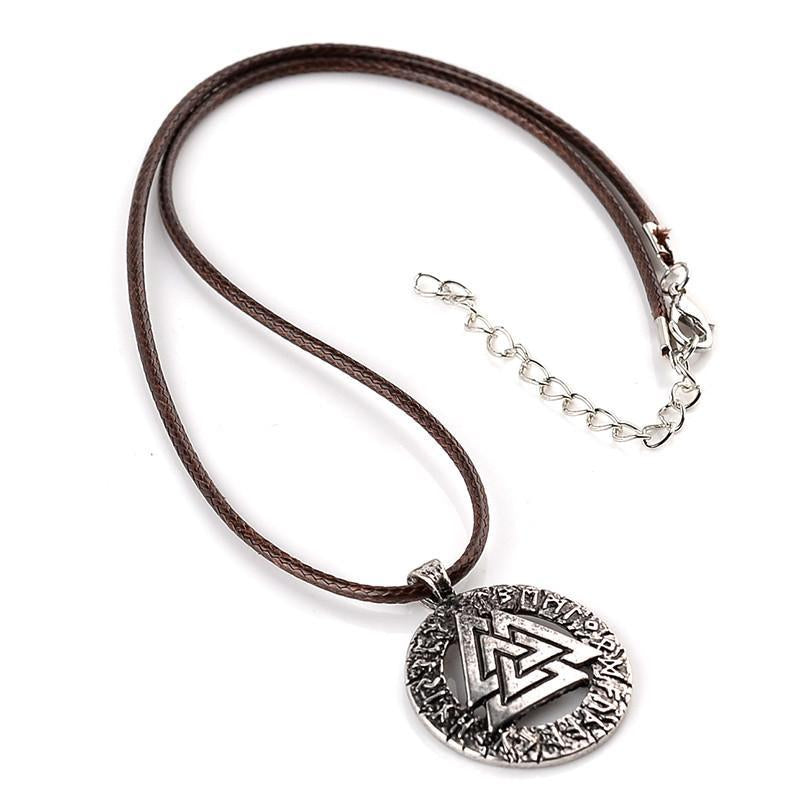 Valknut Viking Necklace
