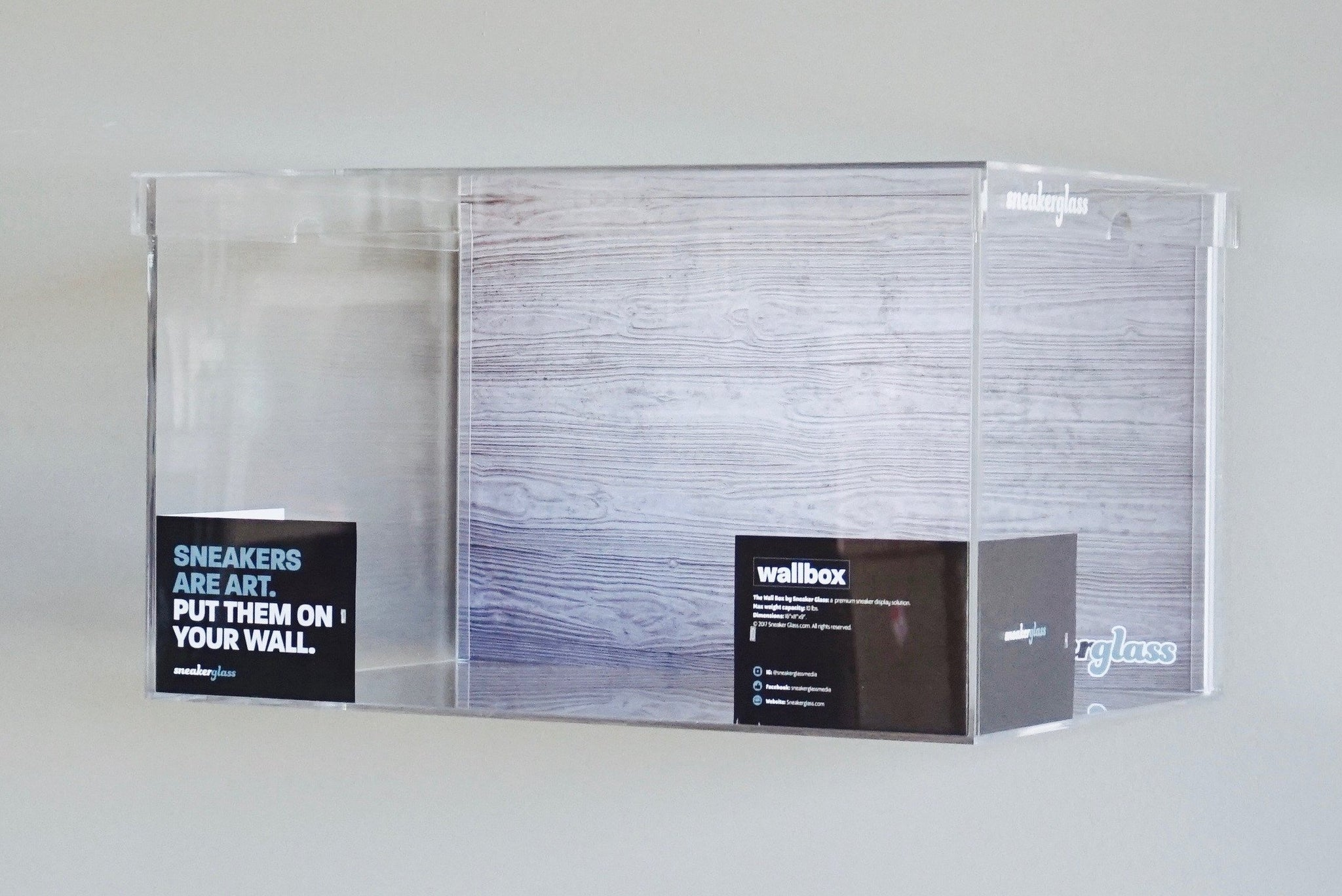 Wall Mount Shoe Box A Premium Display Solution Sneaker