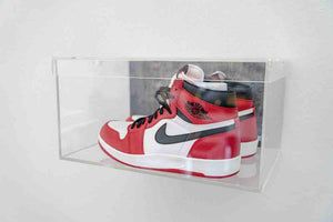 Sneaker Glass Floating Shoe Display