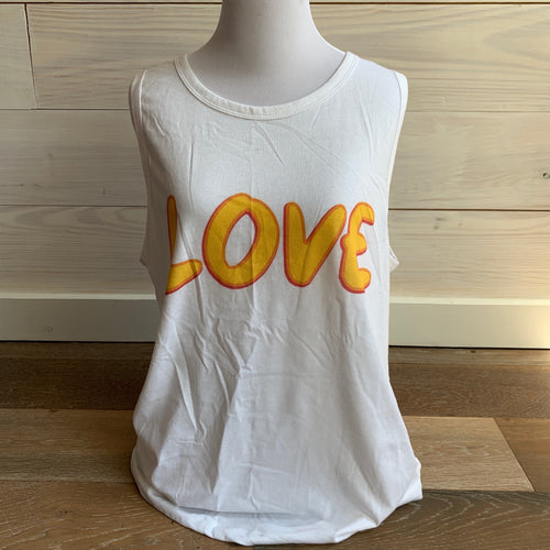 Yellow Love Tank
