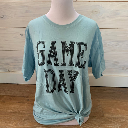 Blue Game Day Tee