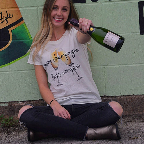 More Champagne Tee