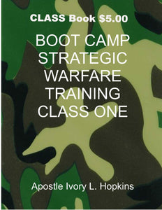 Boot Camp Strategic Warfare Training Manual  CLASS MANUAL PDF DOWNLOAD