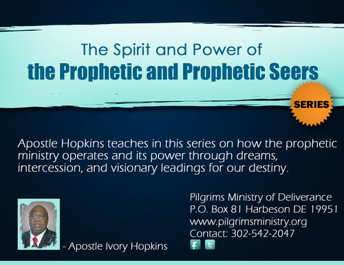 MP3 - Prophetic Seers PT. 5 THE ANOINTING AND NATURE OF PROPHETIC SEERERS
