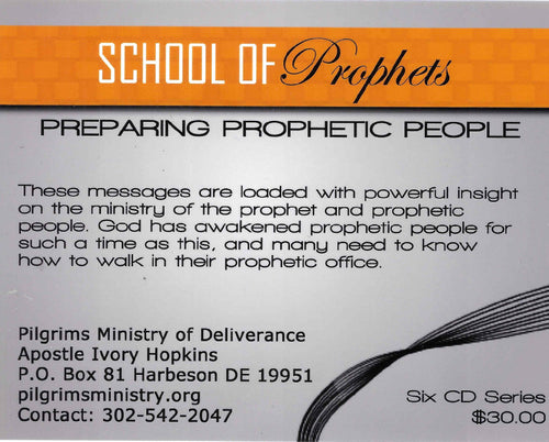 MP3 - PT1  - School of The Prophets Class One