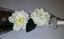 WEDDING JUMPING BROOM -White Silk Broom