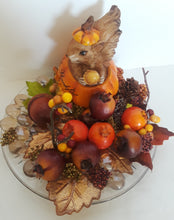 FALL SQUIRREL- Be Thankful