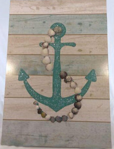 OCEAN & LOVE- Shell and anchor set