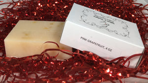 PINK GRAPEFRUIT- Organic Bar Soap