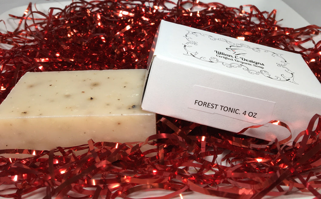 FOREST TONIC - Organic Bar Soap