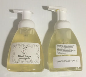 LEMONGRASS TEA - 8oz Foaming Liquid Soap