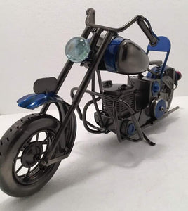 BLUE- Motorcycle
