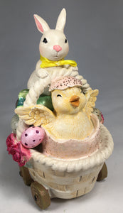 BUNNY RIDE- w/Baby Chick
