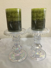 CANDLES w/Candle Holders