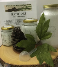 PINE & EUCALYPTUS- Large Jar Bath Salt