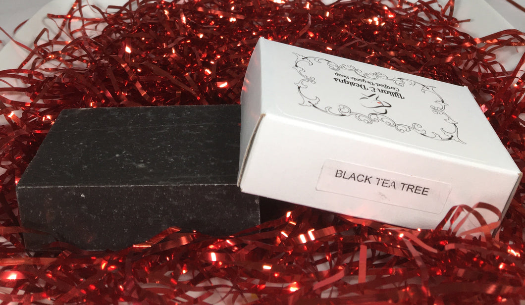 BLACK TEA TREE - Organic Bar Soap