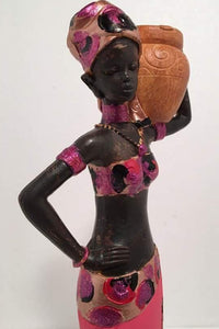 PRINCESS OVA - African Lady Candle Holder