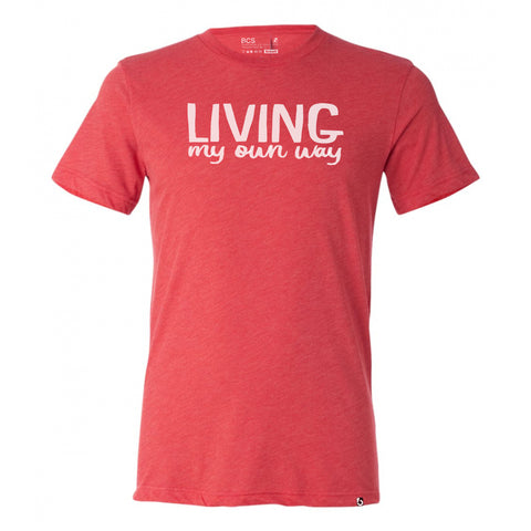 LIVING MY OWN WAY - Classic crew neck t-Shirt