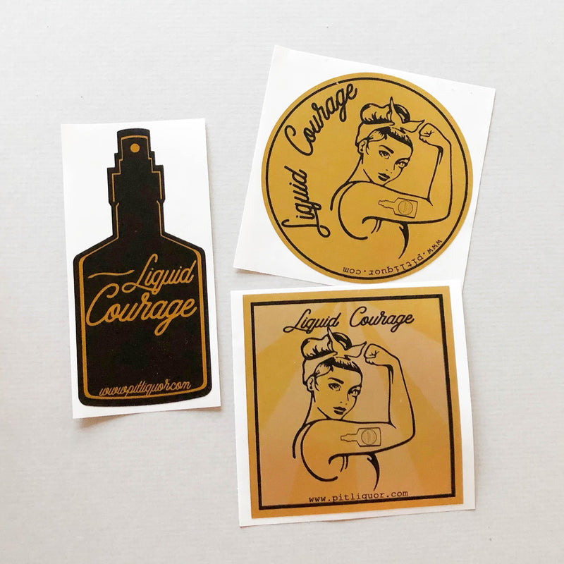 FREE Liquid Courage Sticker